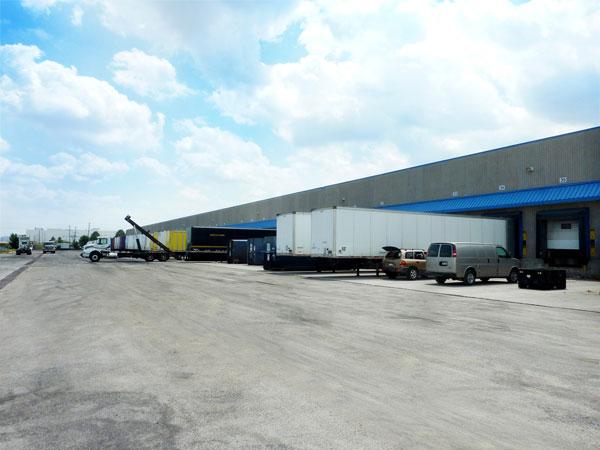 2600 North Park Drive - Parked Trucks